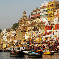 Delhi - Khajuraho - Varanasi