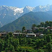 Pathankot - Dalhousie - Dharamsala - Kangra - Dharamsala