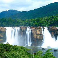 Cochin - Athirappilly - Munnar - Thekkady - Periyar - Kumarakom Backwater - Alleppey - Kovalam - Kanyakumari - Trivandrum