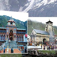 Jalandhar  -  Haridwar  -  Rishikesh - Barkot - Yamunotri - Uttarkashi - Gangotri  -  Rudraprayag - Kedarnath  -  Badrinath - Jyotirmath - Rishikesh - Jalandhar