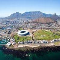 Johannesburg - Sun City - Mossel Bay - Oudtshoorn - Mossel Bay - Knysna - Mossel Bay - Cape Town