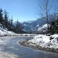 Jalandhar - Shimla - Sangla- Chitkul - Kalpa - Nako - Kaza - Losar - Manali