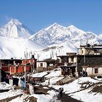 Annapurna Region - Tadapani - Chomrung - Tikhredhunga - Ghorepani