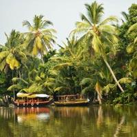 Cochin - Kaladi - Guruvayur - Alleppey - Periyar - Munnar - Trivandrum  - Suchindrum - Kanyakumari
