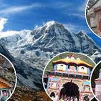 New Delhi - Haridwar - Barkot - Yamunotri - Uttarkashi - Gangotri - Guptakashi - Kedarnath - Badrinath - Rishikesh