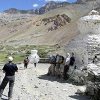 Delhi - Manali - Darcha - Zanskar Sumdo - Chuminakpo - Lahkhang - Lukung - Kargyak - Purni - Phugtal Gompa - Tanze - Phitse La - Lingti Camp - Tsarap Camp - Kilong Sarai - Keylong