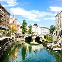 Ljubljana - Bled - Bohinj - Kofja Loka - Piran - Postojna - Soca - Otocec - Marjeke Toplice