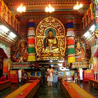 Gangtok - Roomtek Buddhist Temple - Sikkim Parliament - Nathula Pass - Baba Temple - Chhangu & Manju Lake - Chungthang - Yumthang - Pelling