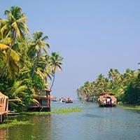 Cochin - Alleppey - Periyar National Park - Madurai - Kanyakumari - Kovalam - Trivandrum