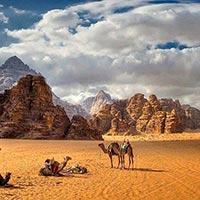 Amman - Jerash - Desert Castle - Dead Sea - Madaba - Monte Nebo Kerak - Petra -Wadi Rum - Aqaba - Amman