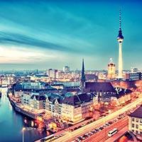 Frankfurt Weimar - Berlin - Poznan - Poland - Warsaw Jasna - Prague - Munich