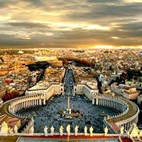 Rome - Assisi - Venice Island - Ferrara - Florence - Pisa - Eze - France - Nice - Paris - London