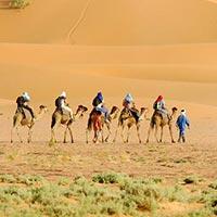 Marrakech - Ouarzazate - Merzouga - Zagoura