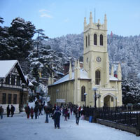 New Delhi - Shimla - Manali - Rohtang Pass - Kullu - Manikaran - Dharamsala - Dalhousie - Khajjiar