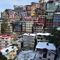 New Delhi - Chandigarh - Shimla - Naldehra - Kufri - Manali - Rohtang Pass