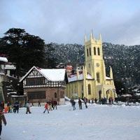 New Delhi - Manali - Shimla - Rohtang Pass - Kufri - Naldera - Chail