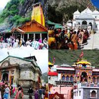 New Delhi - Rishikesh - Barkot - Yamunotri - Uttarkashi - Gangotri - Rudraprayag - Guptakashi - Kedarnath - Badrinath - Joshimath - Haridwar