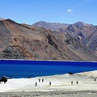 New Delhi - Leh - Pangong Tso - Khardung La Pass - Nubra Valley - Diskit - Likir - Alchi - Uleytokpo - Lamayuru - Kargil - Sonamarg - Srinagar