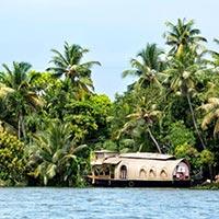 Cochin - Alleppey -  Kovalam - Trivandrum