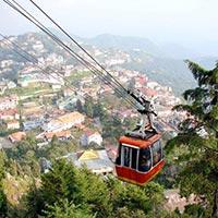 Mussoorie - Corbett - Nainital