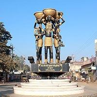 Jagdalpur - Chitrakote - Dantewada - Tirathgarh