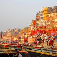 Varanasi - Khajuraho - Orchha - Jhansi - Sariska - Alwar - Bikaner - Jaisalmer - Jodhpur - Mount Abu - Udaipur - Dungarpur - Ahmedabad - Bhavnagar - Diu - Bombay - Aurangabad