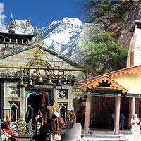 Haridwar - Barkot - Yamunotri - Barkot - Gangotri - Uttarkashi - Guptakashi - Kedarnath - Rudraprayag - Badrinath - Rudraprayag - Haridwar
