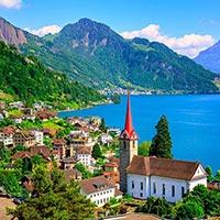 United Kingdom - France - Switzerland