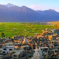 Leh - Khardung La - Nubra Valley - Pangong Tso - Alchi - Dha - Sanjak - Kargil - Padum - Drass - Sonmarg - Srinagar