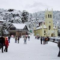 Delhi - Shimla - Kufri - Manali - Rohtang Pass