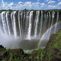 Mumbai - Nairobi - Lake Nakuru - Masai Mara - Nairobi - Cape Town - Table Mountain - Vineyards - Stellenbosch - strich Farm - Cango Caves - Wildlife Ranch - Johannesburg - Mumbai - Victoria Fall - Livingstone - Nairobi - Mumbai