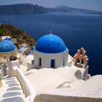 Athens - Santorini - Mykonos