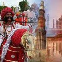 Delhi - Jaipur - Agra - Jhansi - Khajuraho - Varanasi - Delhi