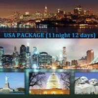 San Francisco - Monterey - Los Angeles - Las Vegas - Niagara - Harrisburg - Washington D.C - Philadelphia - New York.