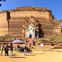 Mandalay - Amarapura - Mingun - Sagaing - Inwa (Ava)