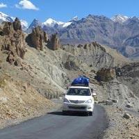 Manali - Rohtang Pass - Kunzam Pass - Kibber - Dhankar - Tabo - Keylong - Khardong - Udaipur