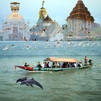 Konark - Satapada - Bhubaneswar