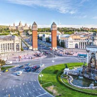 Malaga - Seville - Costa del Sol - Granada - Barcelona