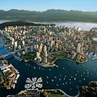 Toronto, Niagara Falls, Kingston, Ottawa, Montreal, Calgary, Banff, Jasper, Victoria, Vancouver, Whistler