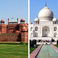 Delhi - Agra - Jaipur - Delhi