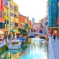 Paris - Nice - Milan - Venice - Florence - Rome