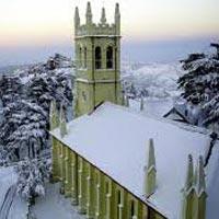 Chandigarh - Pinjore - Shimla - Naldehra - Kufri - Kullu - Manali - Rohtang Snow Point