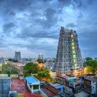 Chennai - Kanchipuram - Mahabalipuram  - Pondicherry - Thanjavur - Trichy - Madurai - Rameshwaram - Kanyakumari - Trivandrum