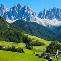 Paris - Switzerland - Lucerne - Austria - Innsbruck