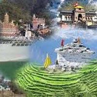 Gorakhpur -  Haridwar - Yamunotri - Gangotri - Kedarnath -Badrinath - Almora -  Ranikhet - Nainital - Gorakhpur.