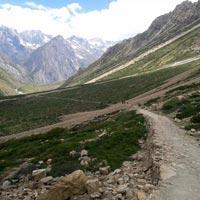 Kathgodam - Dharchula - Mangti - Gala - Malpa - Bundhi - Gunji - Navidang - Om Parbat - Gunji - Kutti - Jollingkong - Adi Kailash