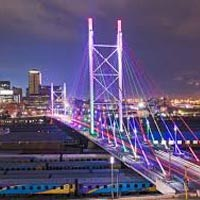 Johannesburg - Suncity - Game Reserve - Port Elizabeth - George/Knysna - Cape Town