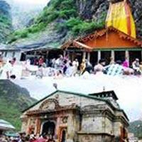 Haridwar - Mussoorie - Barkot - Yamunotri - Uttarkashi - Gangotri - Guptakashi - Gaurikund - Bhimbali - Lencholi - Kedarnath - Joshimath - Pipalkoti