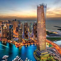 Dubai City Tour - Desert Safari Tour with BBQ Dinner and Belly Dance - Dhow Cruise Tour with Buffet Dinner