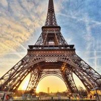 Amsterdam City tour - Diamond workshop - Paris City tour - River Seine - Eiffel Tower - Cheese market of Alkmar - Volendam - Ghent